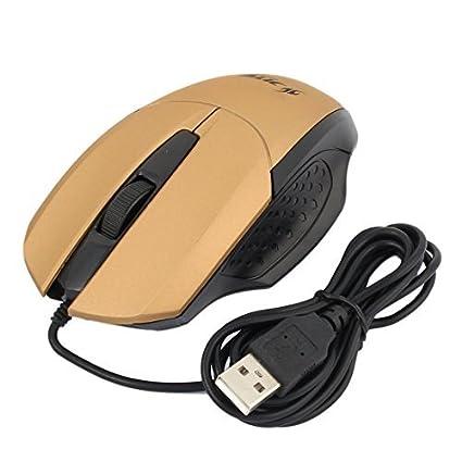eDealMax portátil PC ordenador ergonómico 3 Botones de 800 DPI USB Ratones Con Cable ratón óptico