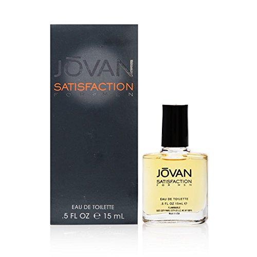 Jovan satisfaction by coty for men 05 oz eau de toilette pour