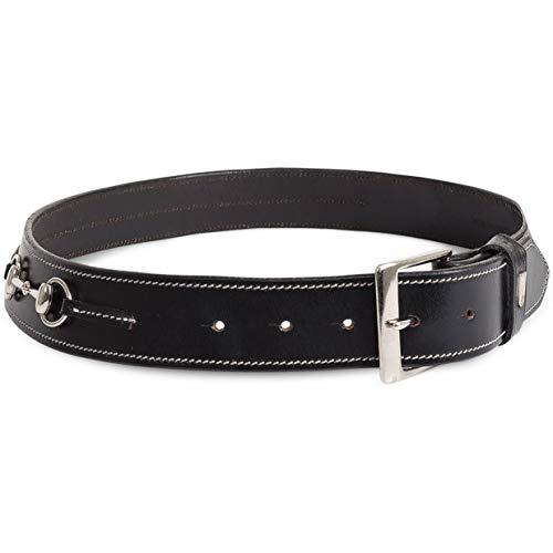 Tredstep Curve Snaffle Belt Black/black 32