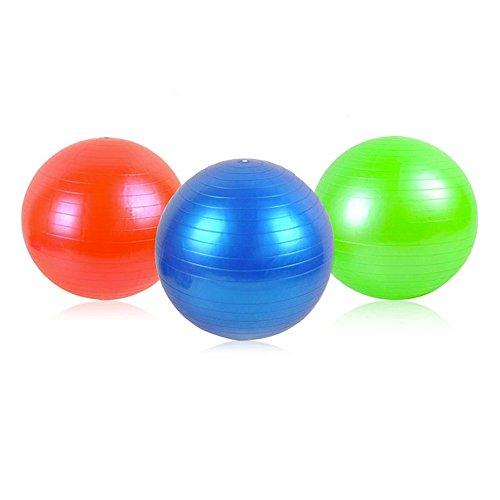 Ballon de gymnastique avec pompe ballon d'entraînement fitness pour entraînement 55–75Cm # 248