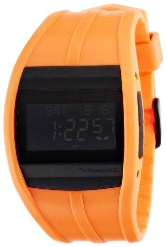 Vestal Unisex CRU010 Crusader Neon Orange Digital Surf Watch