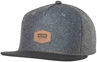 7f651ad665f Globe Woodford Snapback in Smoke - Men s Skatewear Adjustable Cap O S (one  size