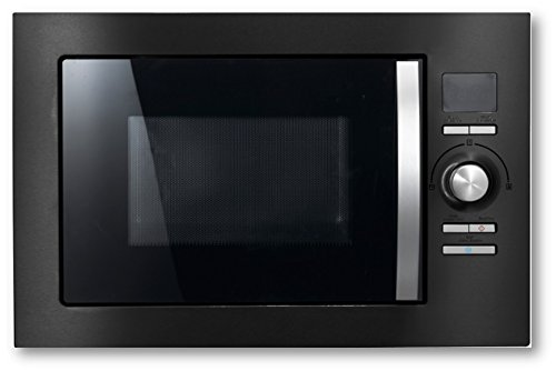 Cookology Built-in Combi Microwave Oven & Grill | BMOG25LNBH Black 25 Litre