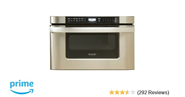 Amazon.com: Sharp KB-6524PS 24-Inch Microwave Drawer Oven, Stainless ...