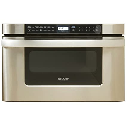 Sharp KB 6524PS 24 Inch Microwave Drawer Oven, Stainless Steel