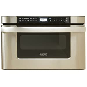 Sharp KB-6524PS 24-Inch Microwave Drawer Oven : Beautiful style. Still getting adjusted to the amount of