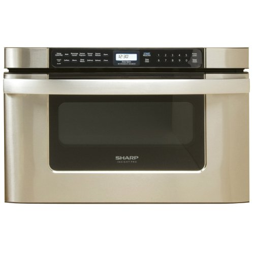 (Sharp KB-6524PS 24-Inch Microwave Drawer Oven, Stainless steel)