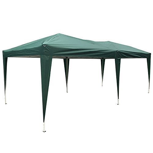 Cheap Peach Tree Canopy Wedding Party Tent Heavy Duty Outdoor Gazebo Green (10×20)