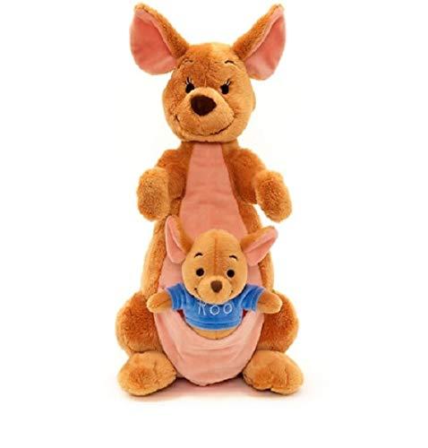 OfficialDisney Winnie The Pooh - 36cm Kanga and Roo Soft Plush Toy - Kanga Winnie The Pooh