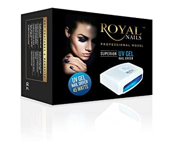 Royal nails uv gel nail dryer