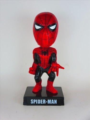 Spider-Man Black Suit 2008 Comic Con 1008 world limited body FUNKO ( Fanko ) Wacky Wobbler ( Wacky Wobbler ) bubble (Spider Man Wacky Wobbler)