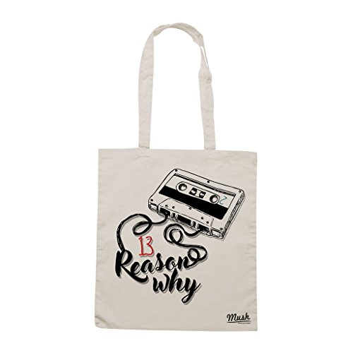 Borsa 13 REASON WHY MUSICASSETTA - Sand - FILM by Mush Dress Your Style