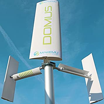 MAKEMU Energy New Wind Home Domus Plus Small Mini Micro Shovel 12/24 V  Vertical Axis Wind Turbine Generator With Vertical savonius Home Terrace  roof
