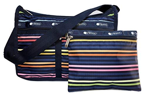 LeSportsac Baby LeStripe Deluxe Everyday Crossbody Bag + Cosmetic Bag