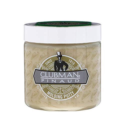 Clubman Molding Putty for High Hold Hair Styling, 4 oz