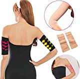 2Pcs Beauty Women Shaper Weight Thin Arm Calorie Off Fat Buster Slimmer Wrap Belt Women Face Lift Tool by Rubyshop