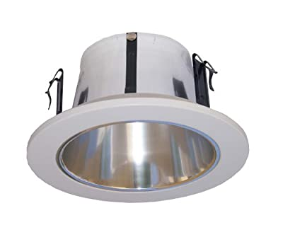4 Inches Open Reflector trim/trims for Line Voltage Recessed Light/lighting-Fit Halo/Juno