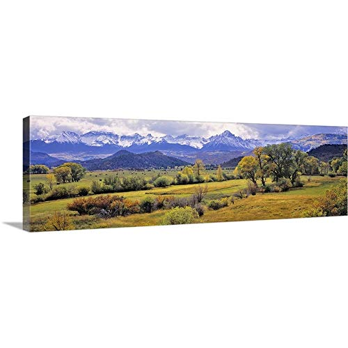 - RIC Ergenbright Premium Thick-Wrap Canvas Wall Art Print Entitled Colorado, Ridgway. just Below The San Juan Mountains in Colorado 60