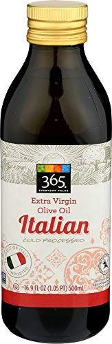 365 Everyday Value, Extra Virgin Olive Oil, Italian, 16.9 fl oz (Best Value Extra Virgin Olive Oil)