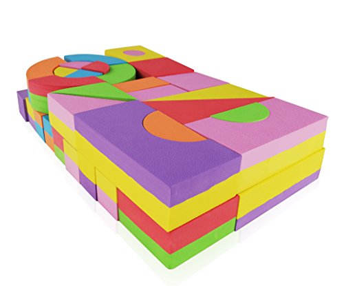 Foam Building Blocks Building Toy For Girls And Boys
