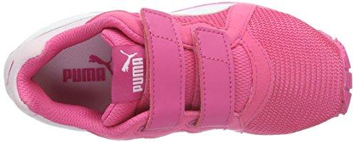 Puma Pacer V Ps - Zapatillas Unisex Niños Rosa - Pink (Fandango Pink-puma White 03)