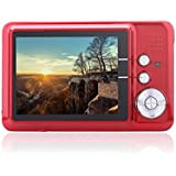 GordVE GVE001 CDFE 2.7 LCD HD Digital Camera Mini Camcorder Video Camera-- Red
