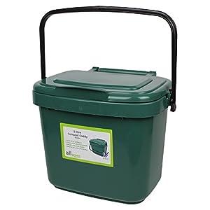 All Green Bac De Recyclage De Compost Pour Cuisine Vert 5 L Bien