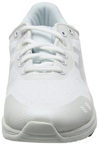 Zapatillas Evo Gel black Asics lyte Adulto White Unisex Blanco 0190 white wqOq467n