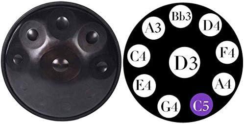 D Major de 11 tonos instrumento de percusi/ón con bolsa de almacenamiento Artwarm Tambor de lengua de acero 20,32 cm