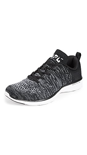 APL: Athletic Propulsion Labs Men's TechLoom Pro Running Sneakers, Black/Faded White, 8 D(M) US