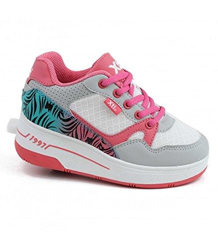 Zapatillas deporte de Niña XTI 53748 C BLANCO 34: Amazon.es: Zapatos y complementos