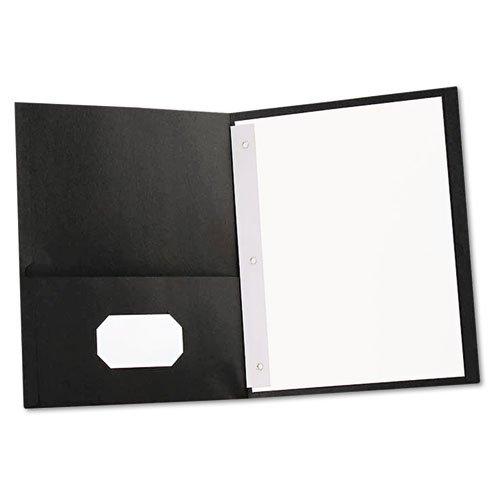 (Sparco 71441 2-Pocket Folders,w/Fasteners,1/2