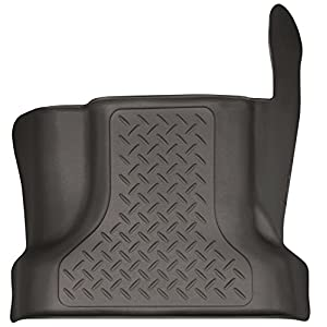Husky Liners 53460 Cocoa Center Hump Floor Liner Fits 15-19 F-150 SuperCrew, 17-19 Ford F-250/F-350 Crew Cab