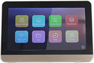 CDQYA WiFi Wall Amplifier Bluetooth Home Theater Amplifiers Audio Amplificador Mini Amp Background Music Host with Touchscreen (Color : B)