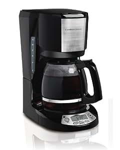 Hamilton Beach 49611 12 Cup Coffeemaker with Digital Clock