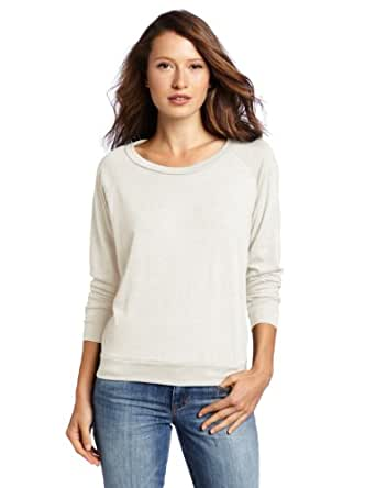 Alternative Womens Slouchy Eco-Jersey Pullover X-Small Eco Ivory