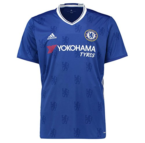 Adidas Chelsea Home Jersey - adidas Chelsea Kids Home Football Shirt 2016-17-15-16 Years