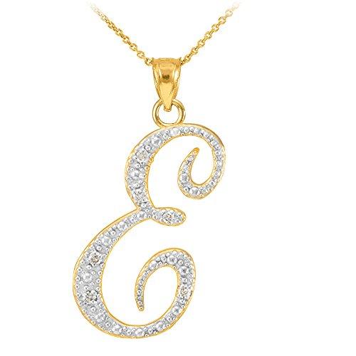 Gold Diamond Initial Letter - 4