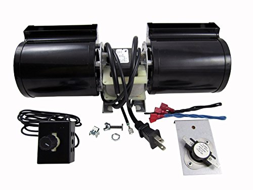 Fireplace Hearth Dimensions (Tjernlund GFK160 Fireplace Blower Kit for Heat N Glo, Hearth and Home, Quadra Fire)