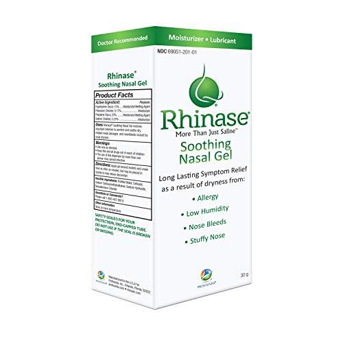 3 Pack Rhinase Nasal Gel for Allergy, CPAP, Nosebleed, Low Humidity