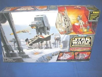 Hoth Ice (Micro Machines Star Wars Ice Planet Hoth Action Fleet Set by Galoob)