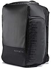 The NOMATIC 30L Travel Bag is the perfect go anywhere do anything bag. It is made with durable waterproof materials and zippers. The versatile strap system allows you to go from backpack to duffel carry for those times when you need more flex...