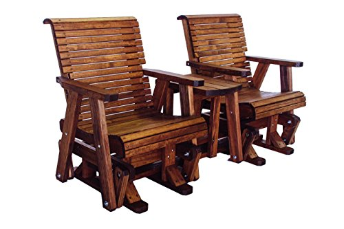 Quality Lowback Glider Settee Real Wood Made In Usa