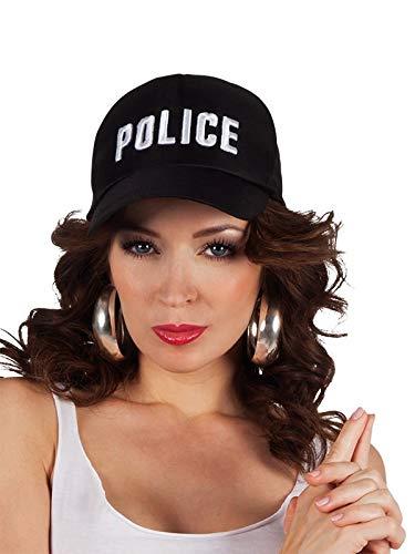 DISBACANAL Gorra Polic/ía Ajustable