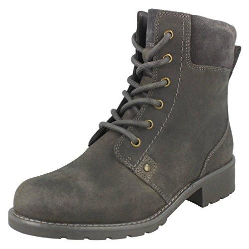 6M Size UK Grey Ankle US Orinoco EU Boots Clarks Spice Leather Ladies 36 3 Size 5D Size nqZ0axwHT