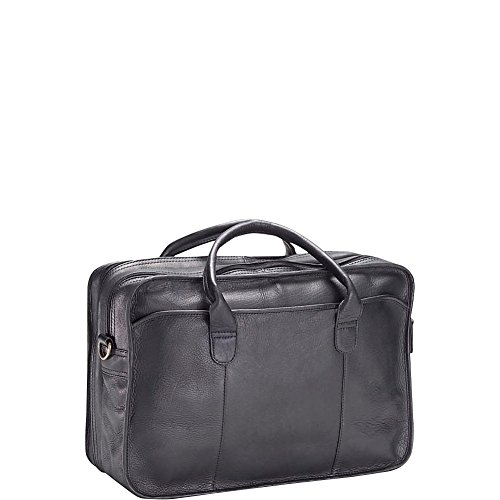 (Clava 1158 Legal Briefcase - Vachetta Black)