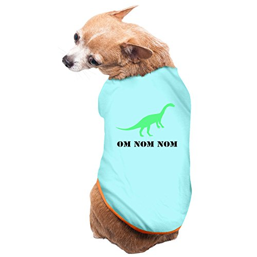 Aip-Yep Fashion Om Nom Nom Dinosaur Pet Doggie Costumes SkyBlue Size S]()