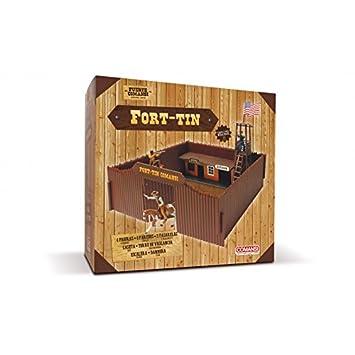 Comansi Fuerte juguetes oeste (C20138): Amazon.es: Juguetes y juegos