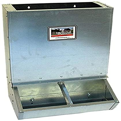 Image of Brower 2HF Dry Lot Supplement Hog Feeder Pet Supplies