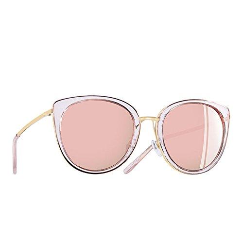 Women Vintage Sunglasses Metal Frame Ladies Eyewear Polarized Sunglasses Shades